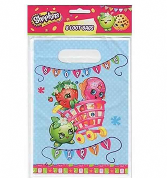Shopkins Loot Bags